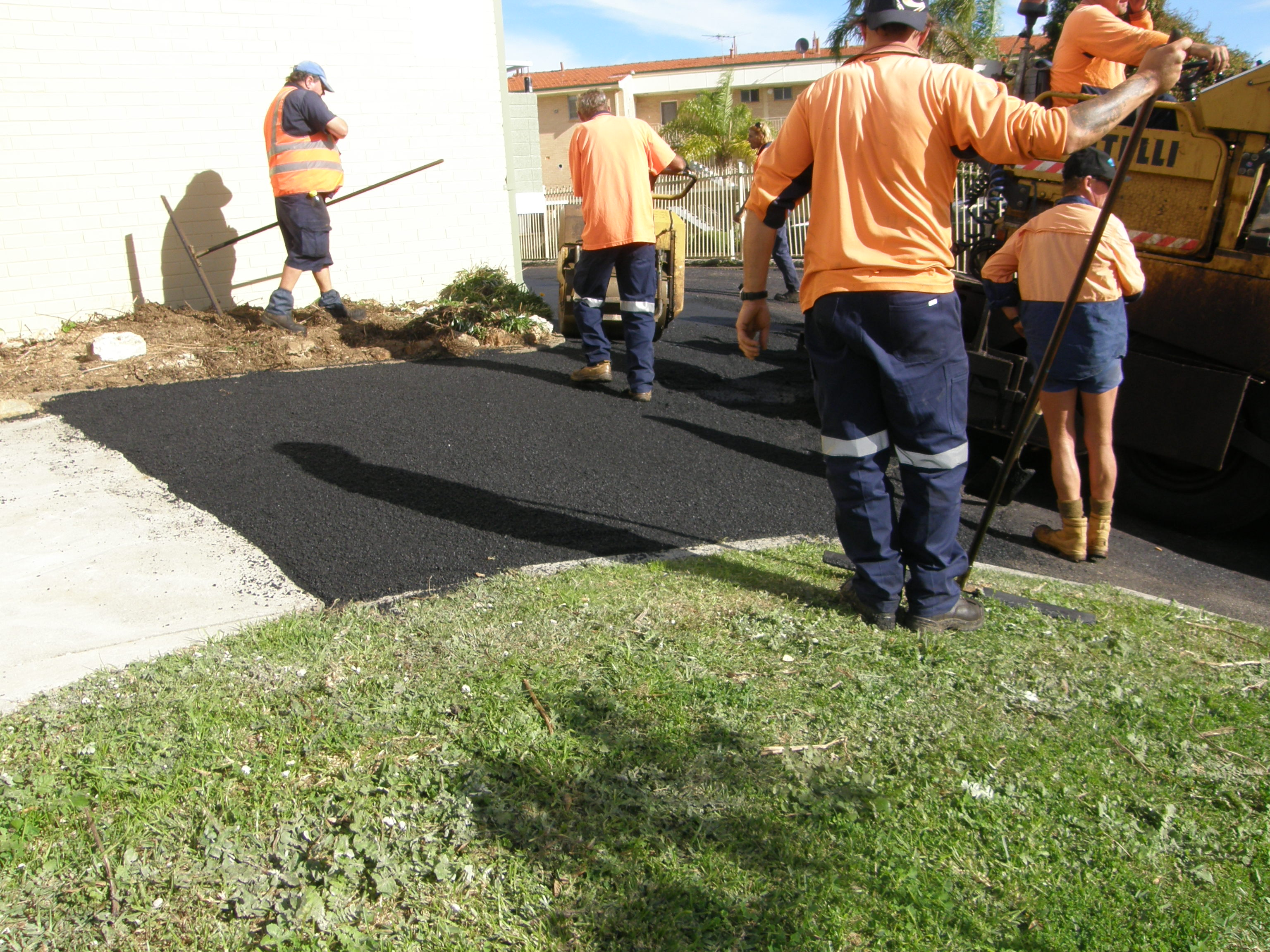 Residential Asphalting Perth